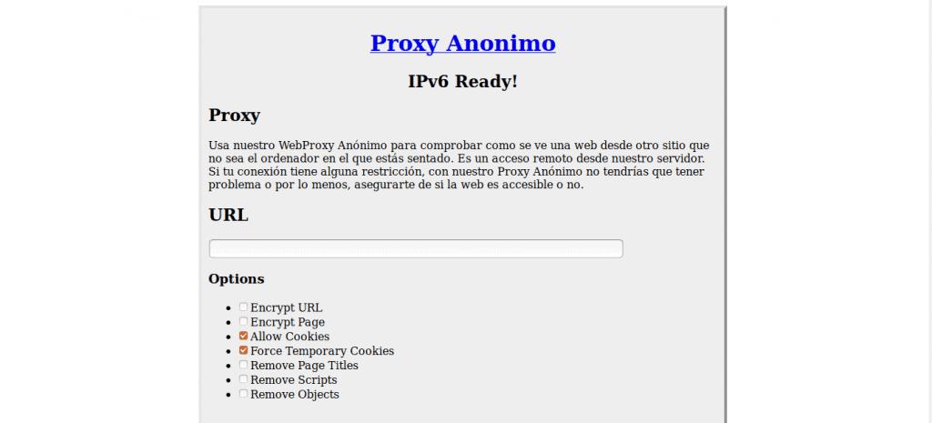 proxyanonimo