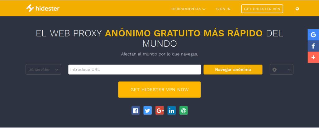 hidester free proxy