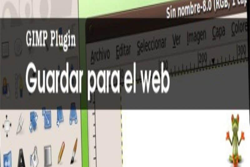 Plugin Guardar para Web en Gimp
