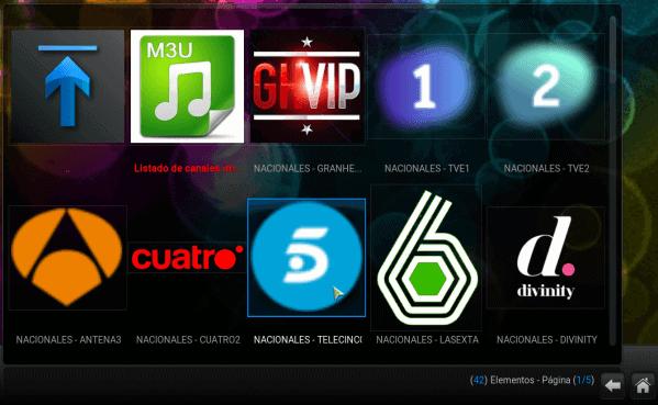 lista m3u en español verdirectotv