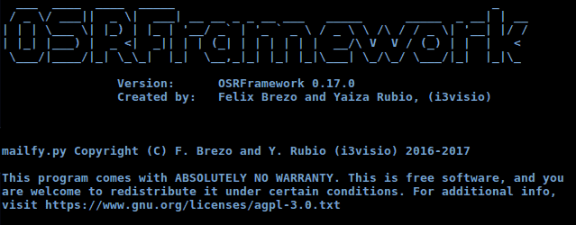 OSRFramework, rastrea usuarios por la red