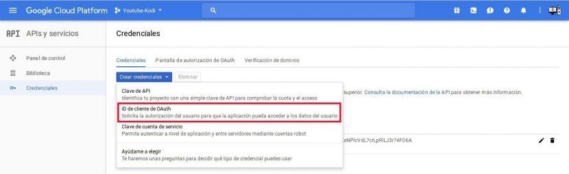 id de cliente OAuth