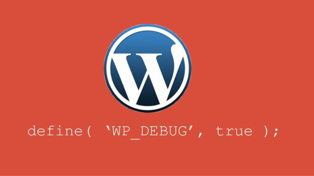 Activar debug_wp wordpress