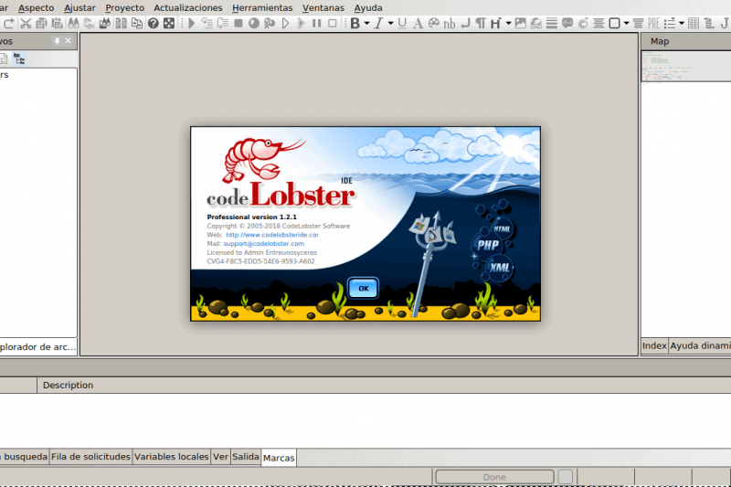 CodeLobster IDE, una vista en detalle de este editor de múltiples lenguajes