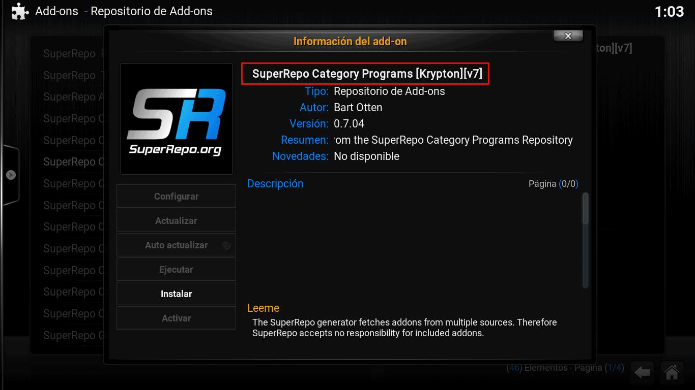 super repo category programs