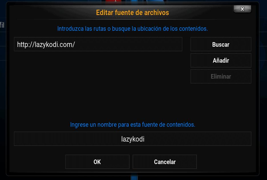 add fuente lazykodi