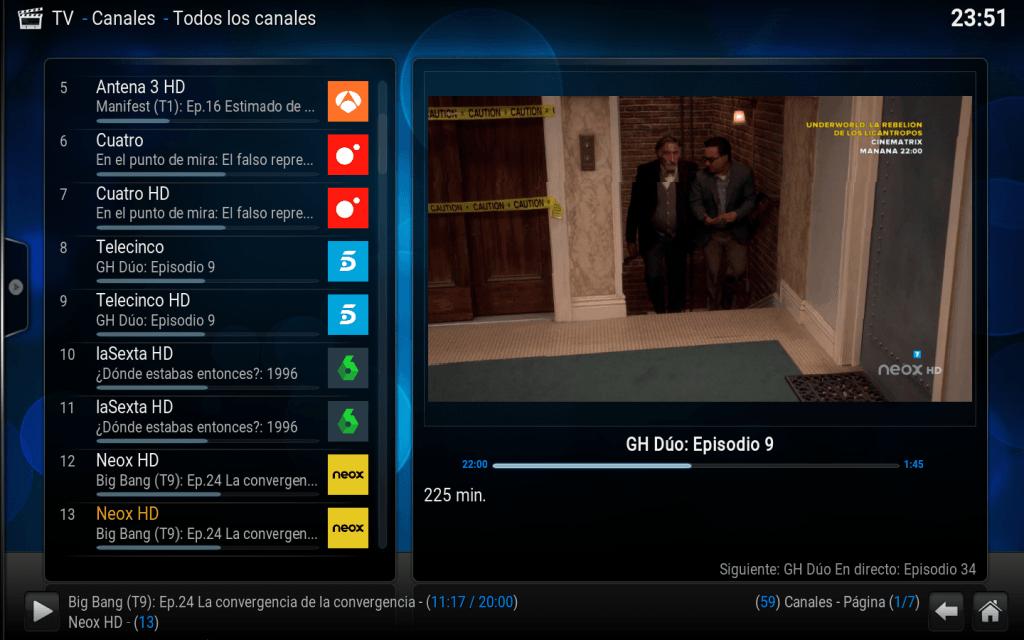 lista m3u funcionando canales tdt spain