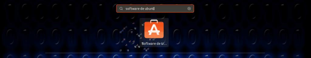 opción de software de ubuntu