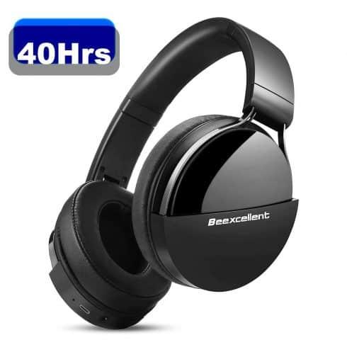 Beexcellent Q7 Auriculares Bluetooth de Diadema con 40h de batería