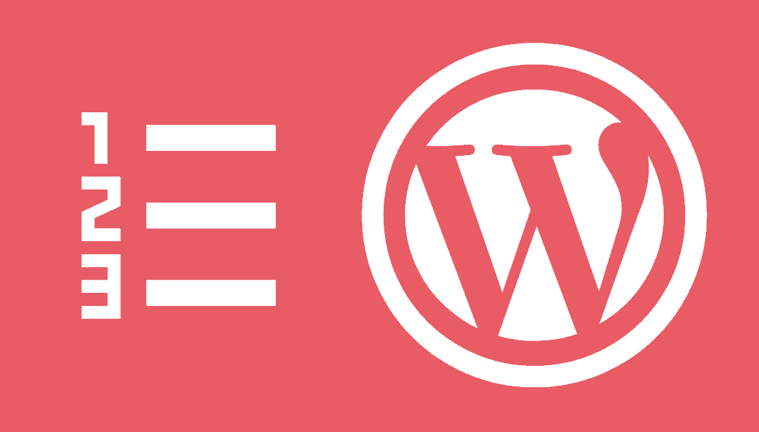 tabla de contenido en WordPress sin plugins