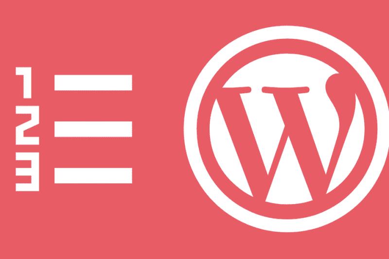 Tabla de contenidos, cómo añadirla a WordPress sin plugins