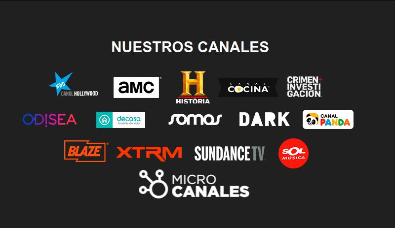 Microcanales, algunos contenidos gratis de los canales de AMC Network