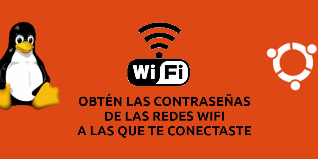 about obtener password de las redes Wifi