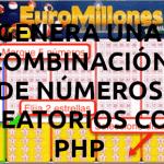 Generar números aleatorios sin repeticiones con PHP